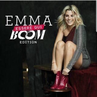 Emma Essere Qui Boom Edition Album Cover