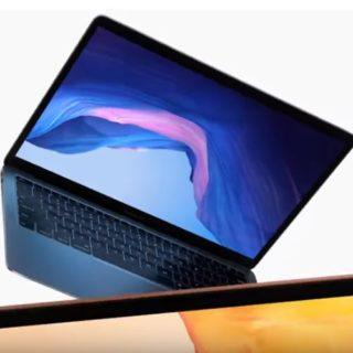 MacBook Air pubblicita ottobre 2018