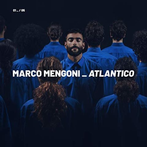 Marco Mengoni Atlantico Album 2018 cover