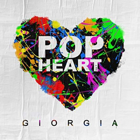 Giorgia Pop Heart Album 2018 cover
