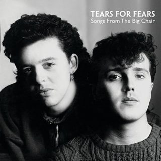 Tears For Fears Songs from the Big Chair album 1985 cover