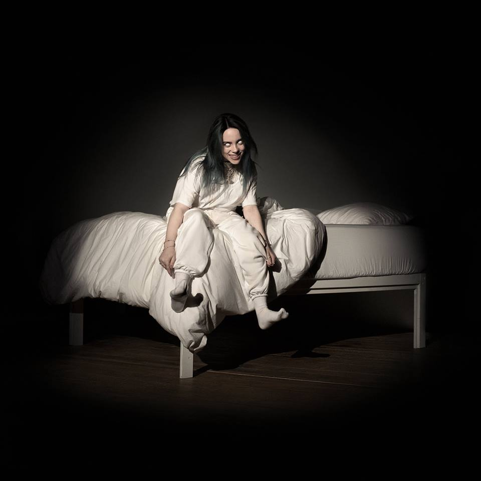 Billie Eilish When We All Fall Asleep, Where Do We Go album cover