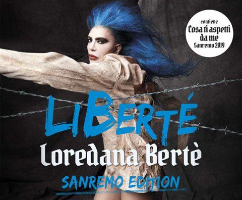 Loredana Berté LiBerté sanremo edition copertina