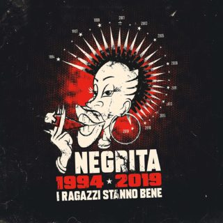 Negrita I ragazzi stanno bene 1994-2019 album cover