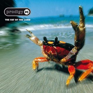 The Prodigy The Fat of the Land album 1996 cover
