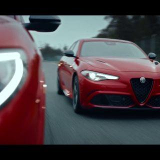 Alfa Romeo Giulia e Stelvio spot marzo 2019