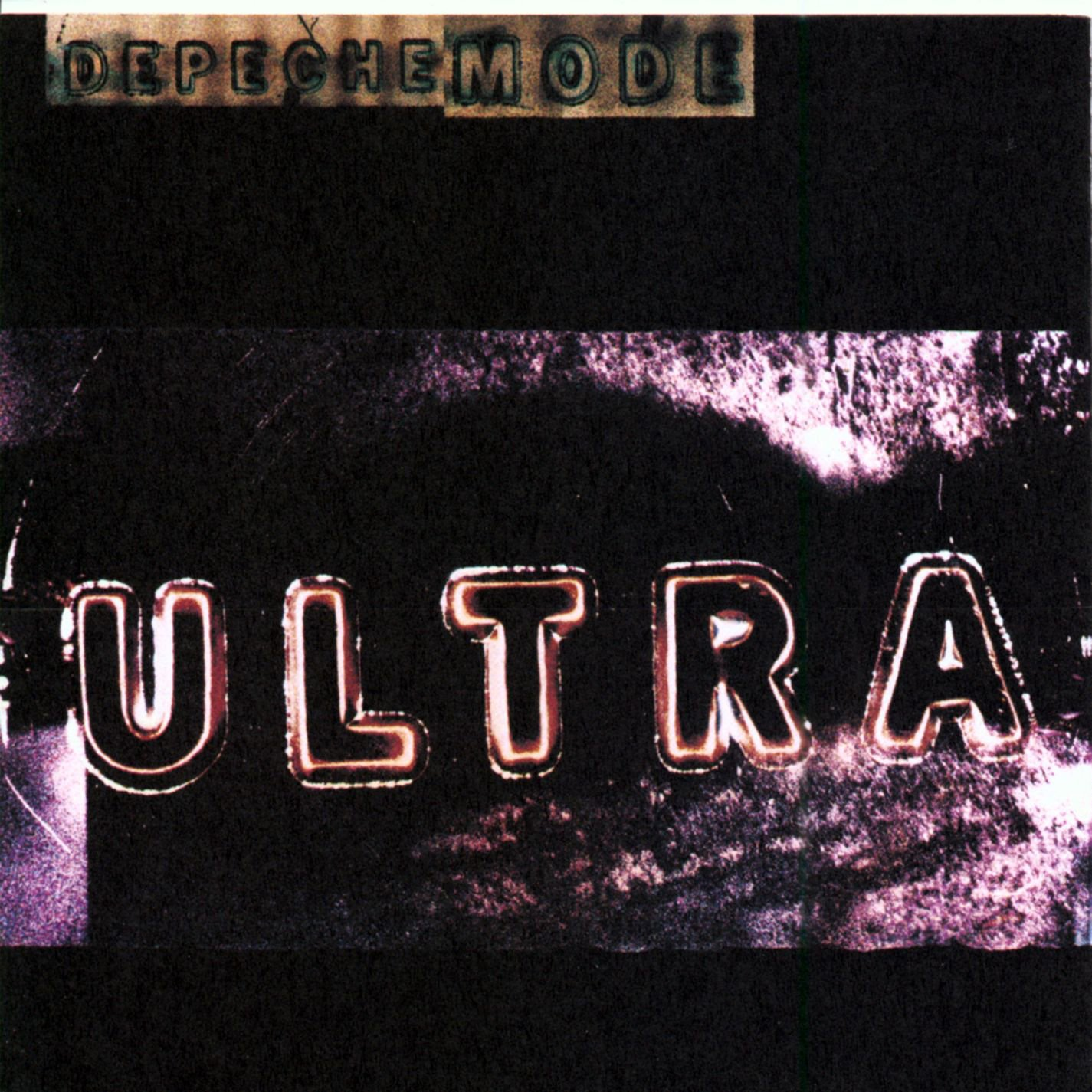 Depeche Mode Ultra album 1997 cover