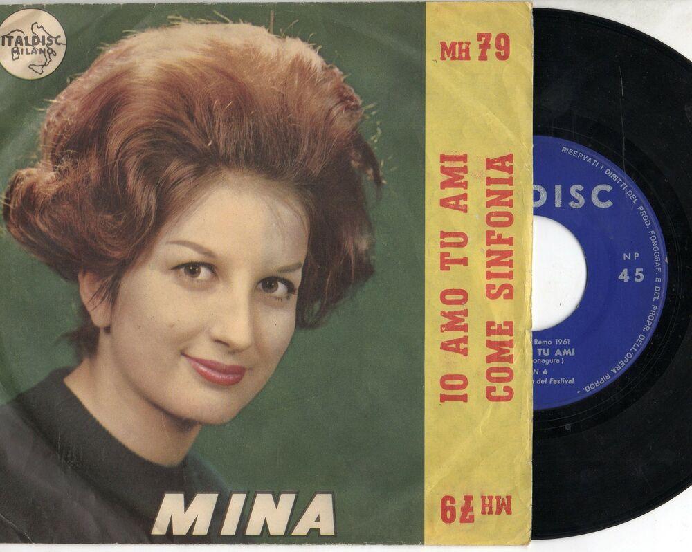 Mina - Come sinfonia - 1961