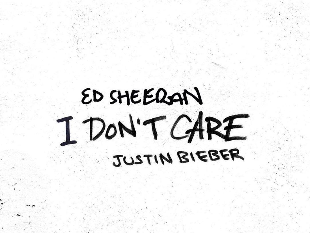 Ed Sheeran I Don't Care' Featuring Justin Bieber