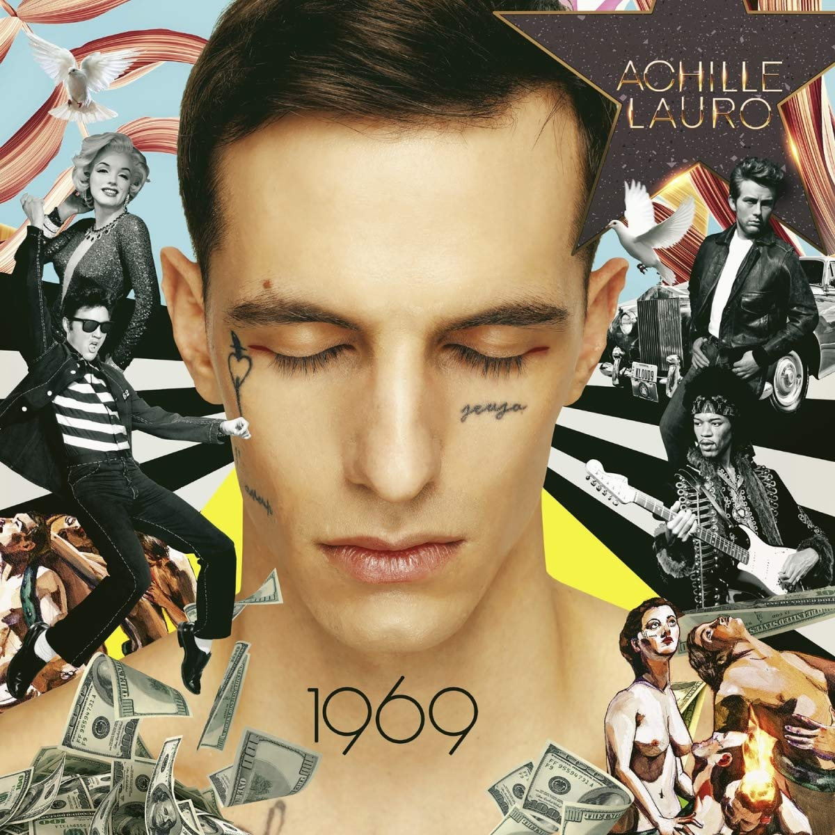 Achille Lauro 1969 album 2019 cover