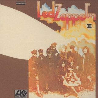 What Is and What Should Never Be Led Zeppelin II album cover