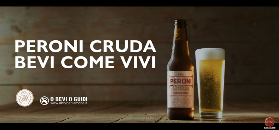 Canzone spot peroni cruda estate 2019