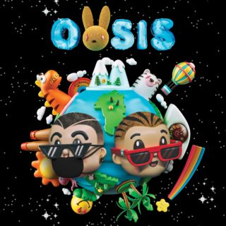 J. Balvin & Bad Bunny Oasis Album cover