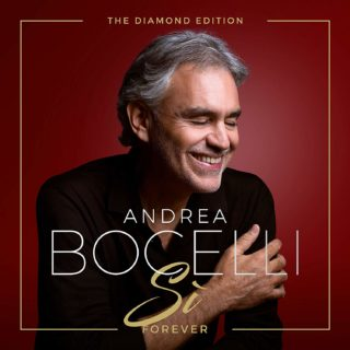 Andrea Bocelli Sì Forever diamond edition album cover