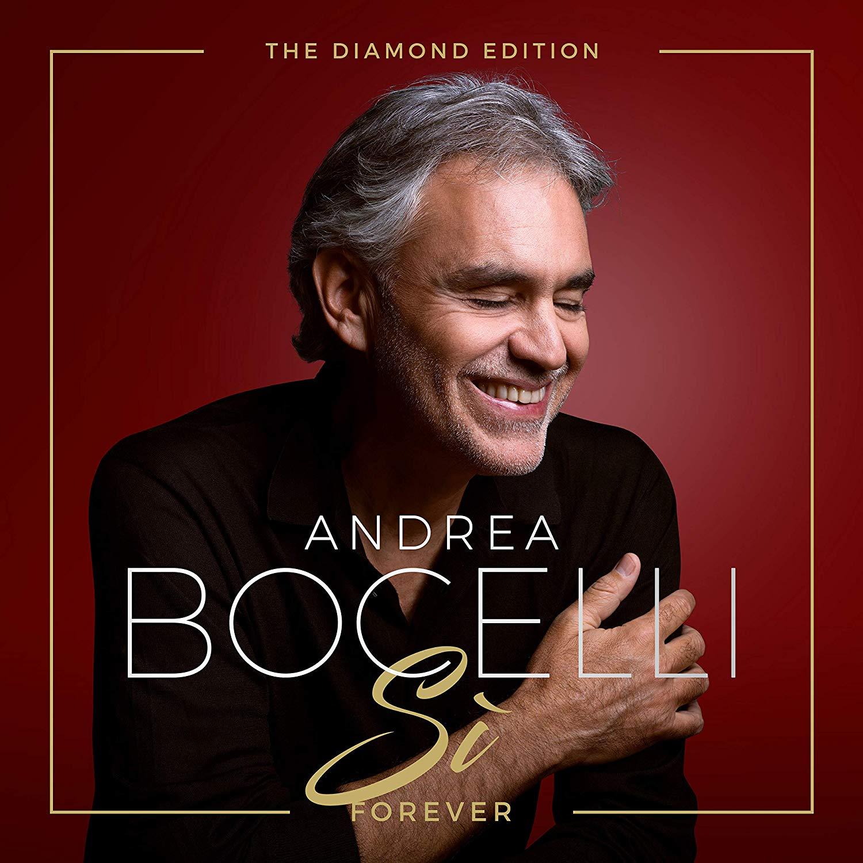 Andrea Bocelli Sì Forever diamond edition album cover