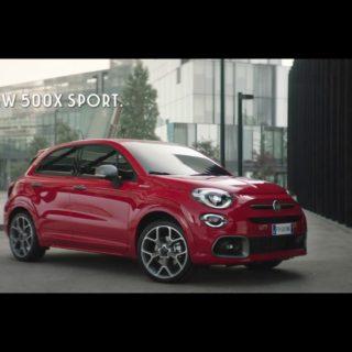 Fiat 500X sport spot 2019