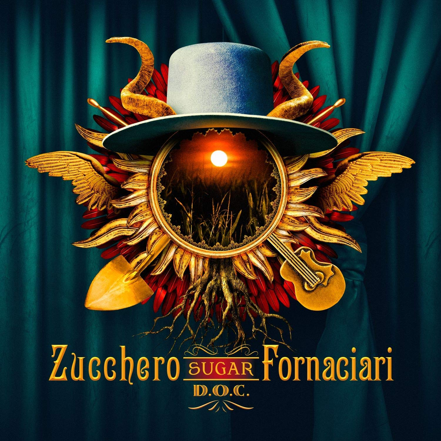 Zucchero DOC album 2019 cover
