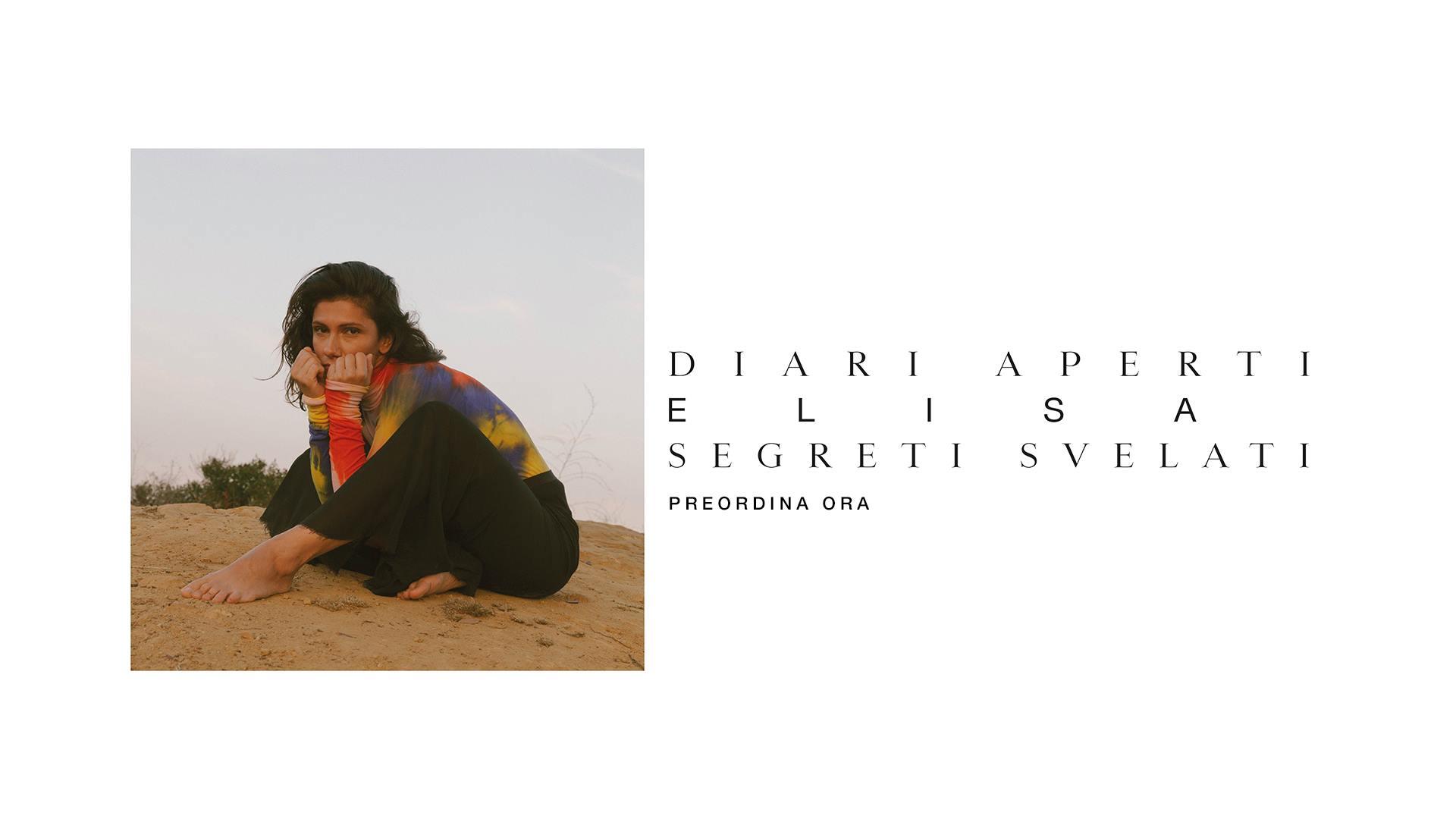 Elisa Diari Aperti Segreti Svelati Album 2019 copertina