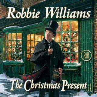 Robbie Williams The Christmas Present album 2019 cover