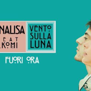 Vento sulla Luna - Annalisa feat Rkomi copertina canzone