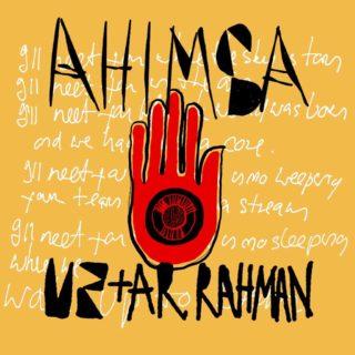 ahimsa - u2 & a. r. rahman la copertina della canzone