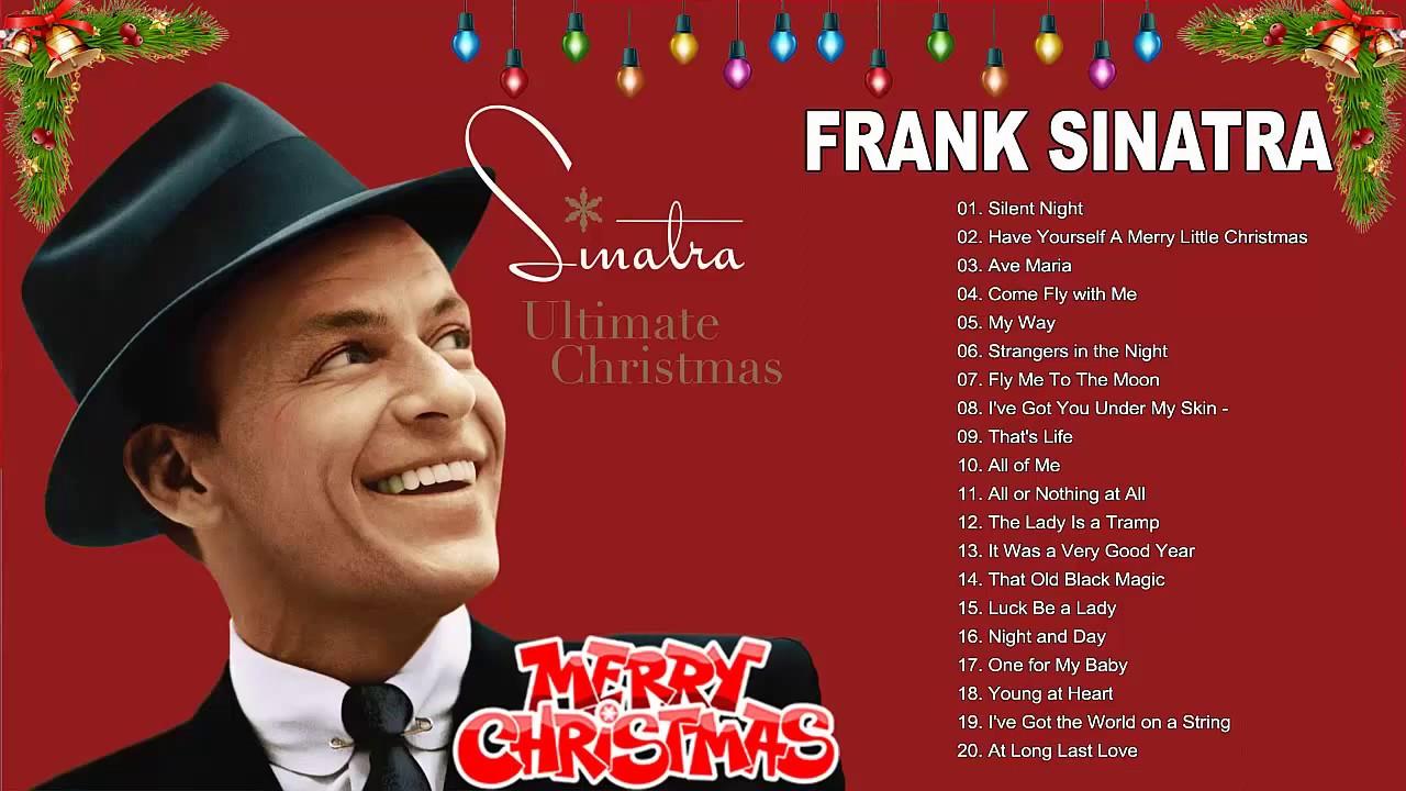 Frank Sinatra The Christmas Collection copertina
