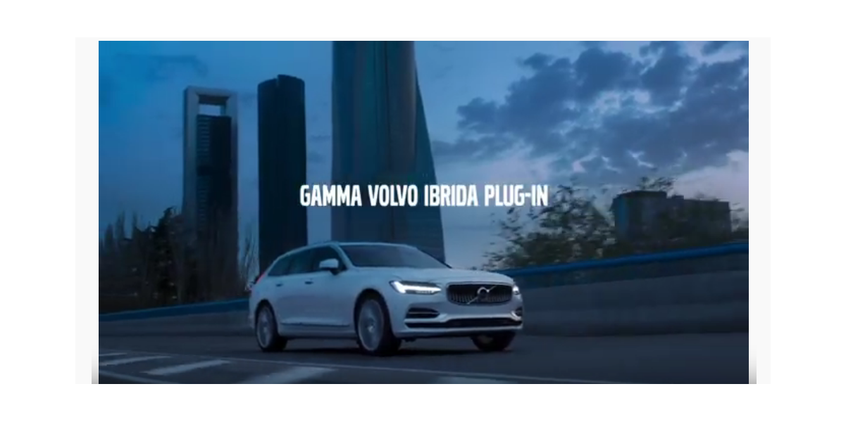 Gamma Volvo ibrida plug-in spot 2019
