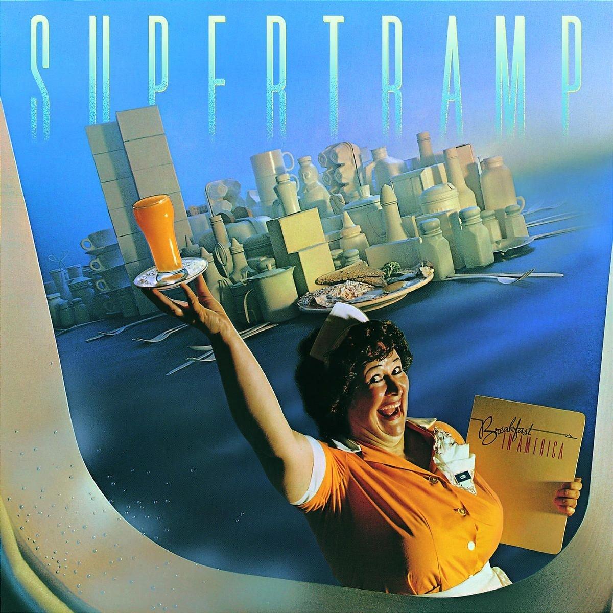 Supertramp Goodbye Stranger Breakfast in America album cover