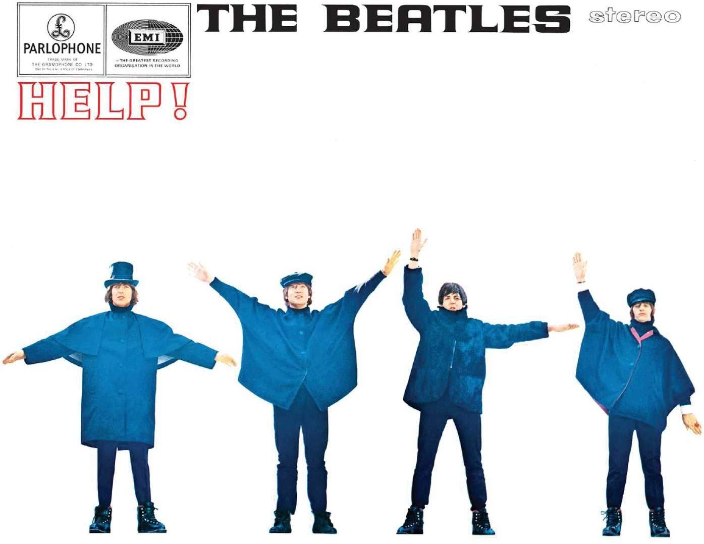 Ticket to ride the beatles help album 1965 cover