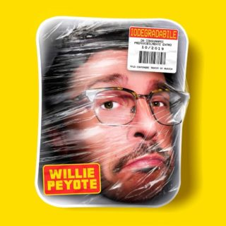 Willie Peyote Iodegradabile copertina disco