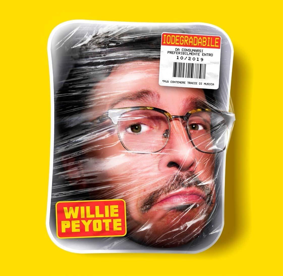 Willie Peyote Iodegradabile copertina disco