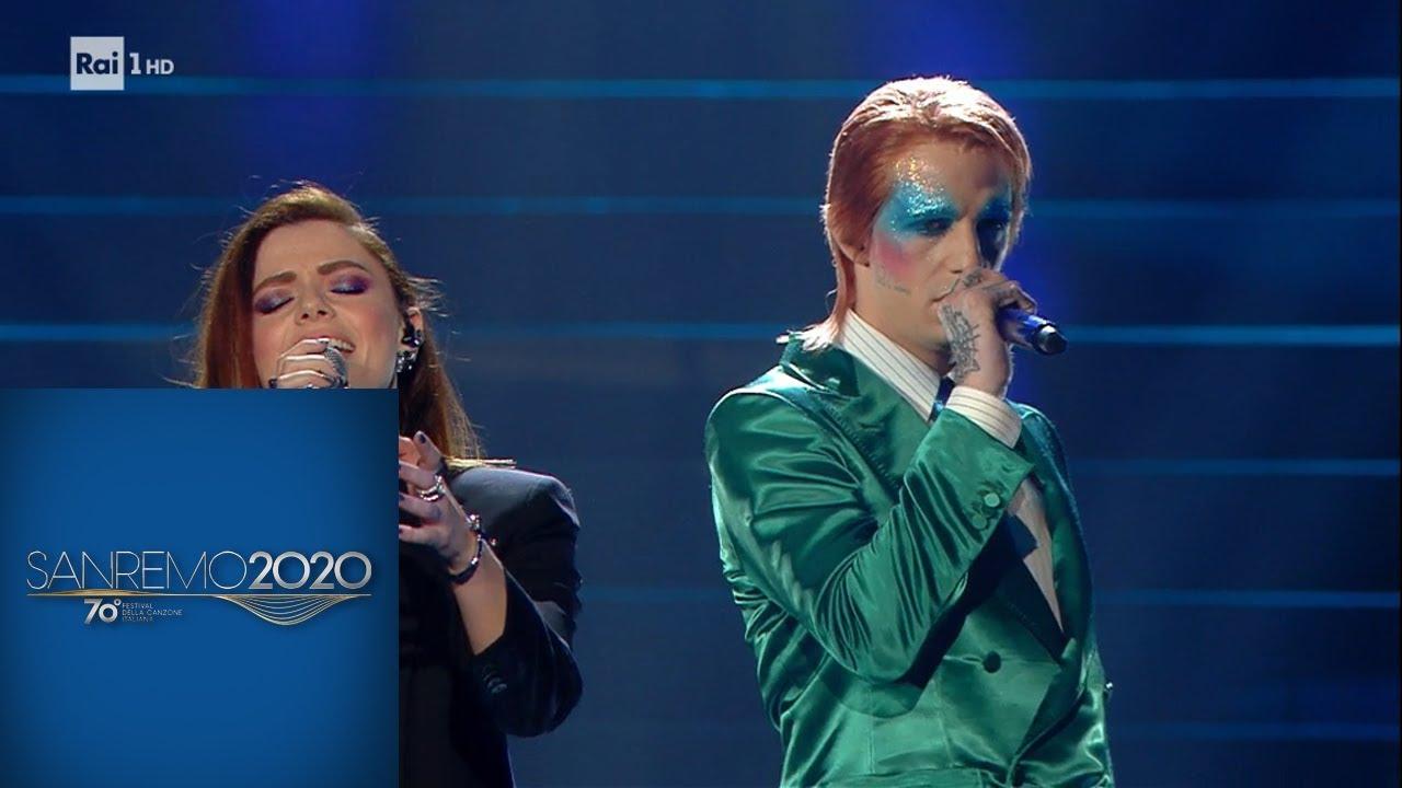 Sanremo 2020 - Achille Lauro con Annalisa - Gli uomini non cambiano