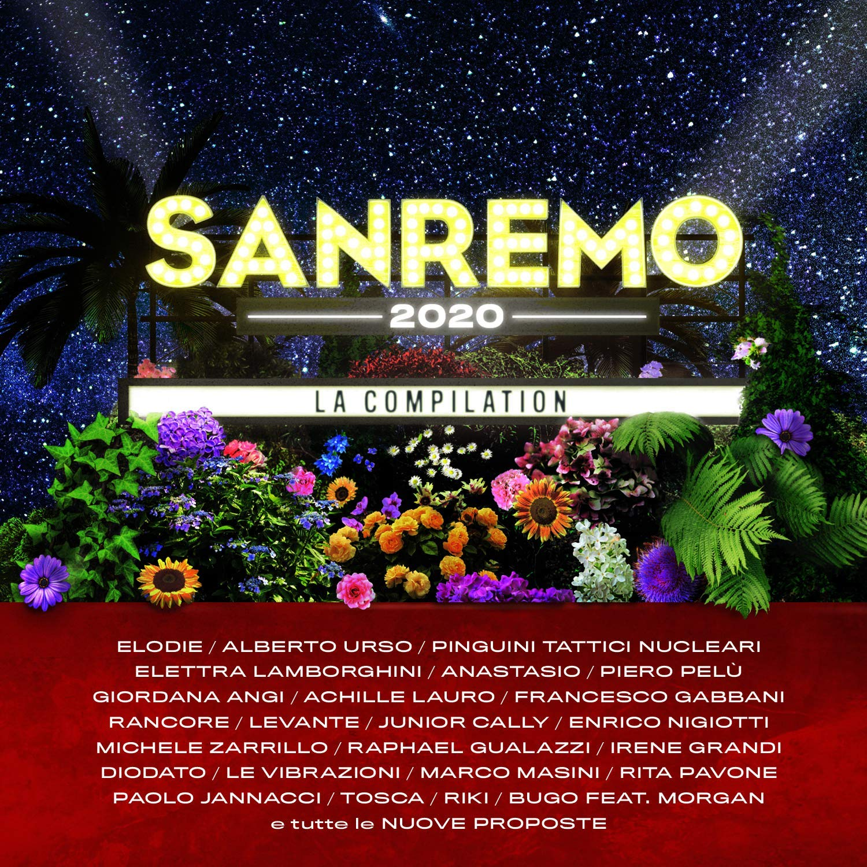 Sanremo 2020 compilation cd copertina