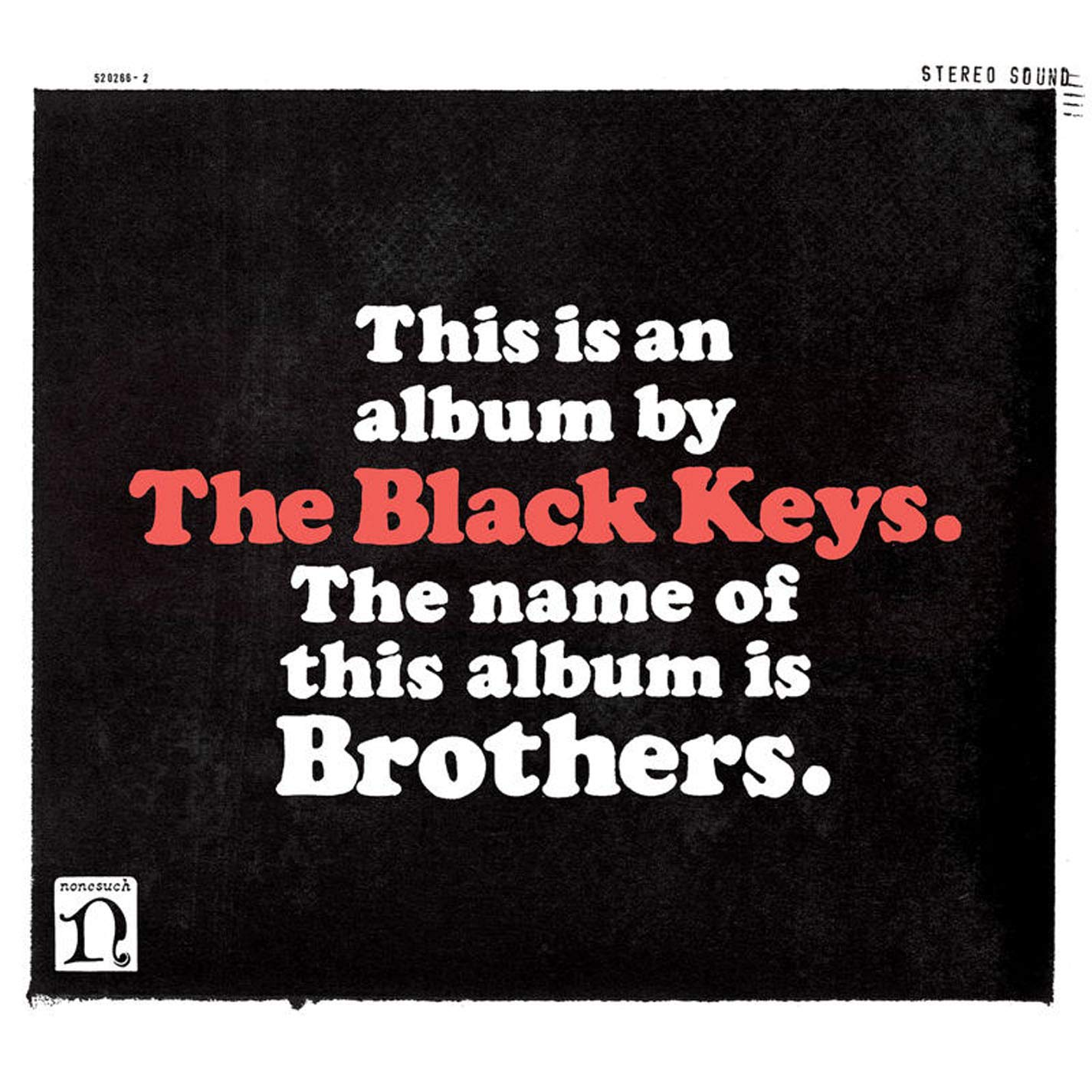 The Black Keys Blothers album 2010 copertina