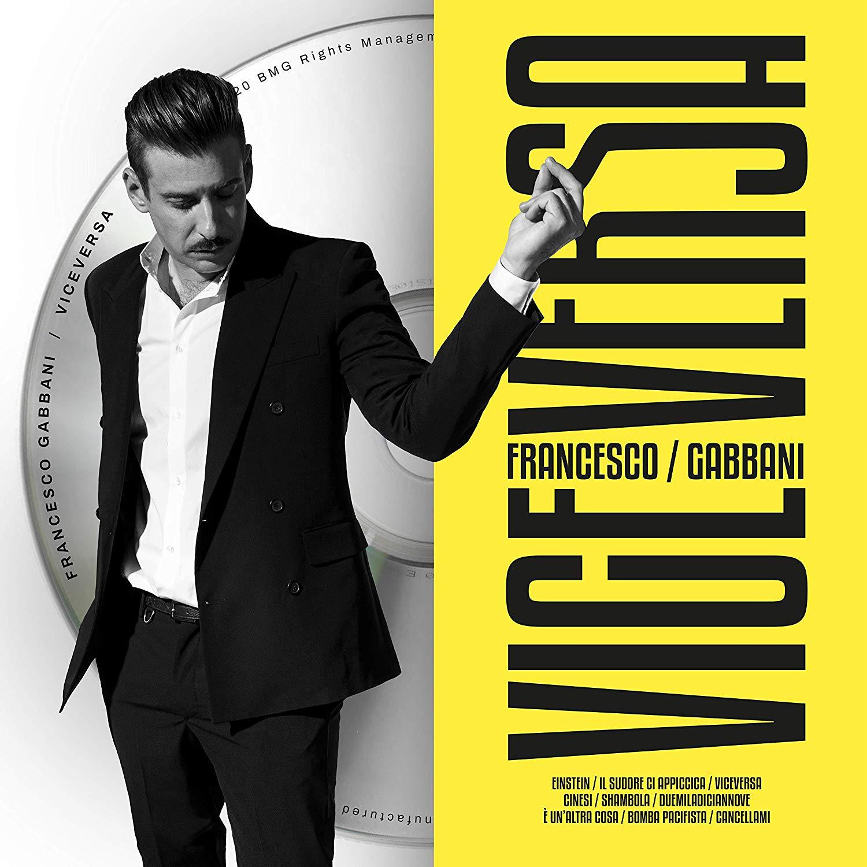 Viceversa - Francesco Gabbani album 2020 copertina